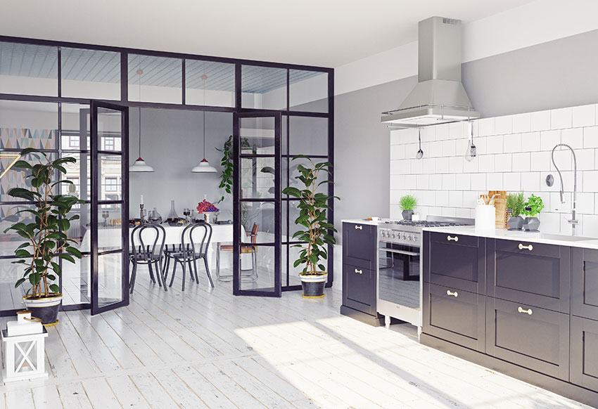 kitchen-dining-steel-glass-divider